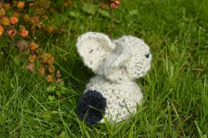 Knitting for beginners week 1 bunny